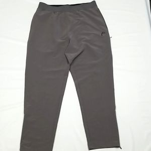 Head Active Wear Pull On Bottoms Gray Size XL